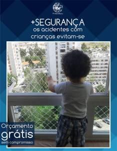 Rede de Proteção para janela