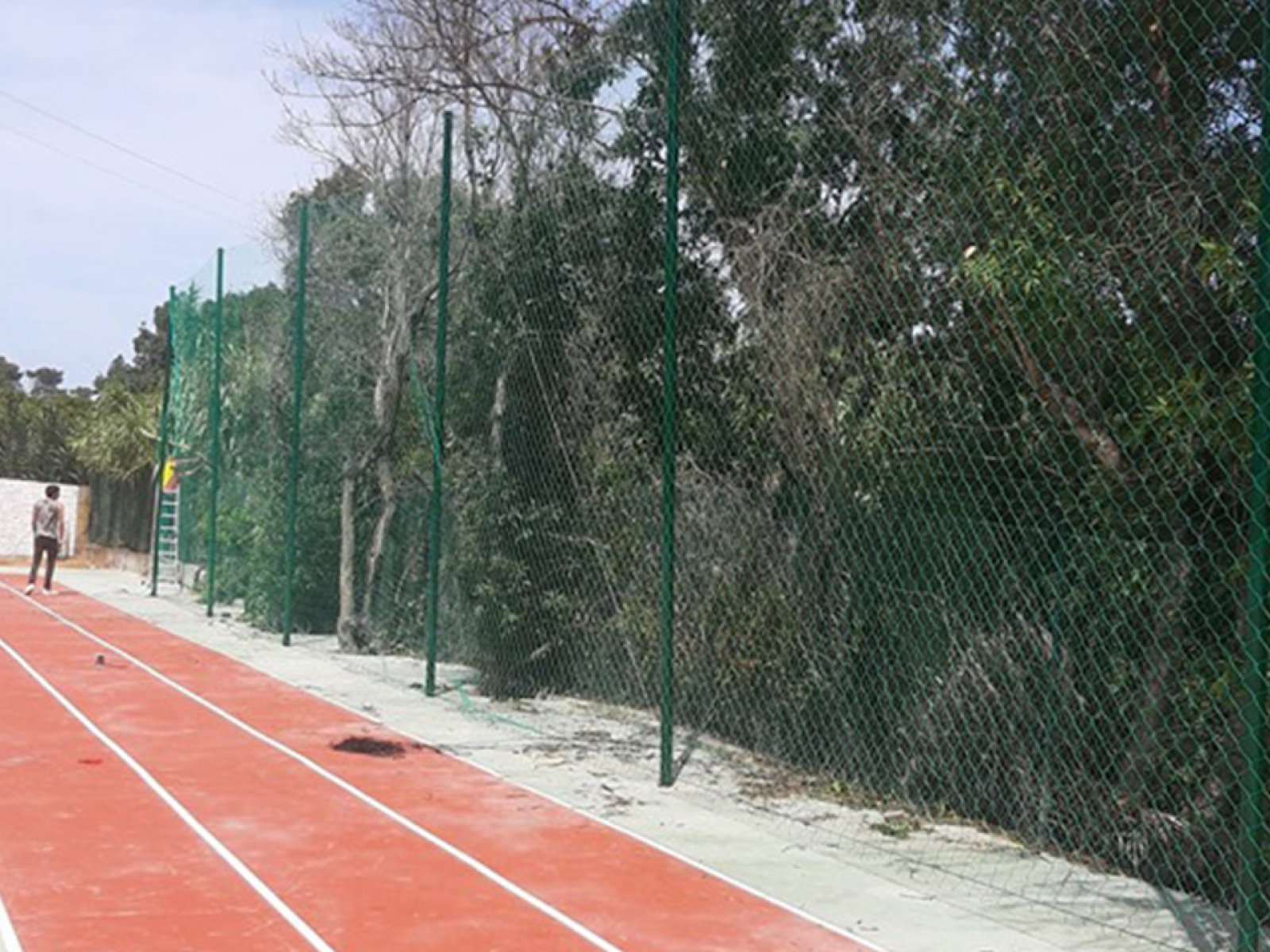 Rede de Proteção para desportos com grande resistência e durabilidade